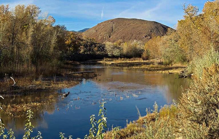 Fort Churchill Nevada Carson River
