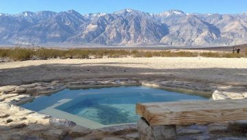 Saline Valley Hot Springs Death Valley Side Trip