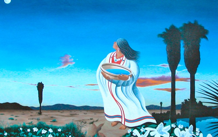 Twentynine Palms Oasis of Mara Mural