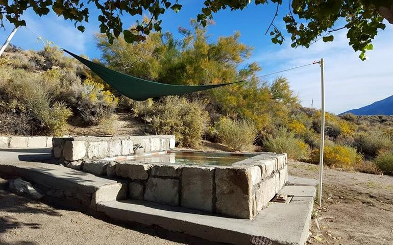 Natural Hot Springs Fed Outdoor Pool