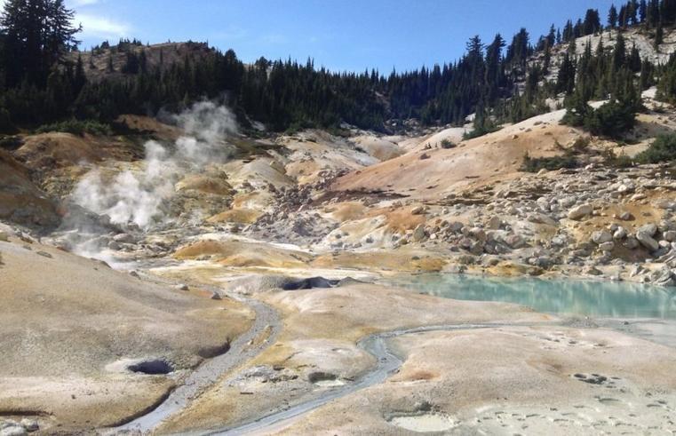 Bumpass Hell Trail Lassen Volcanic National Park
