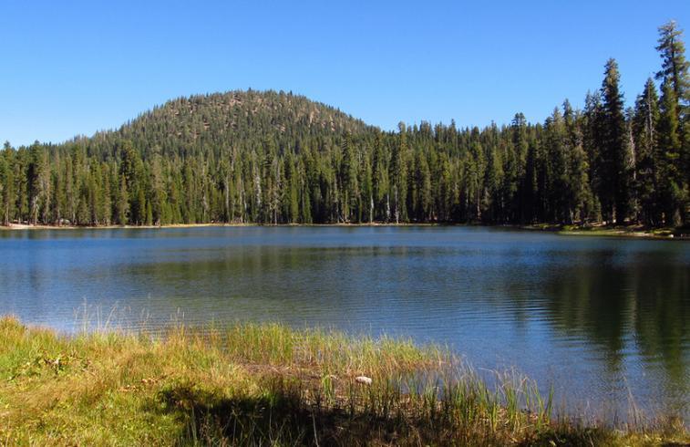 Summit Lake Lassen Volcanic National Park