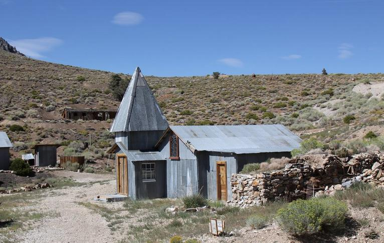 Cerro Gordo Ghost Town Inyo County
