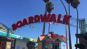 Santa Cruz Beach Boardwalk Classic California