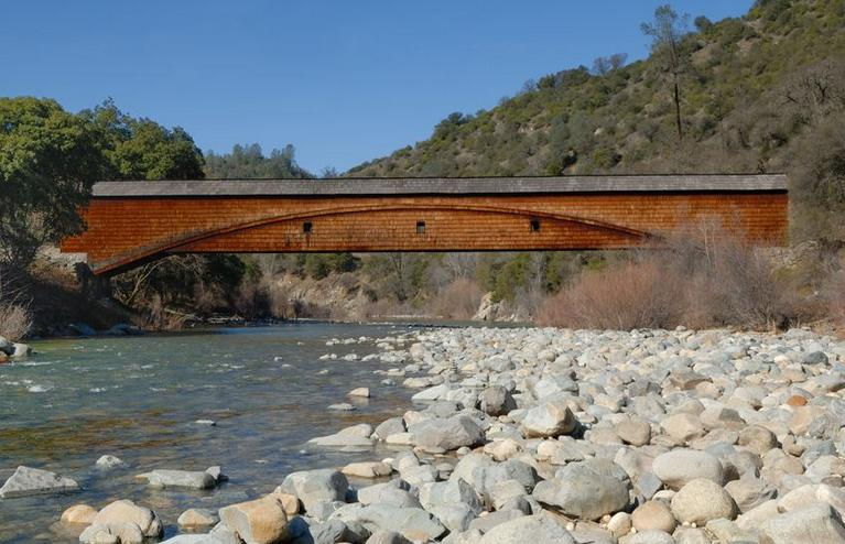 Bridgeport Covered Bridge 25 Things To Do In Northern California