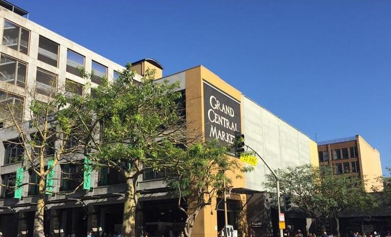 Grand Central Market Los Angeles