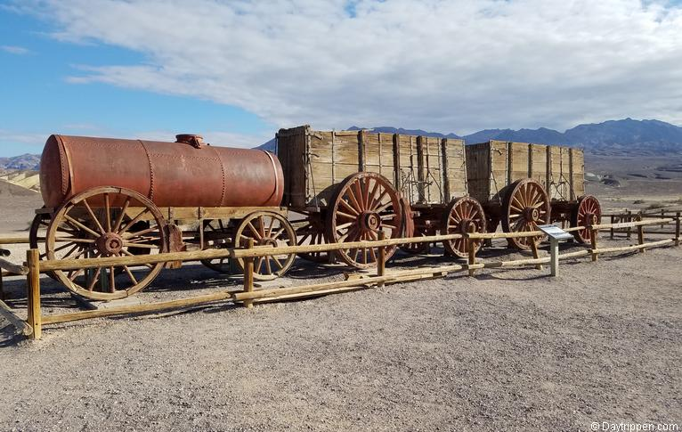 20-mule team wagon Death Valley.
