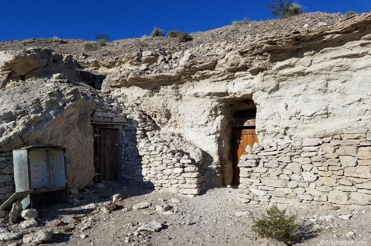 Dublin Gulch Miners Caves Shoshone California