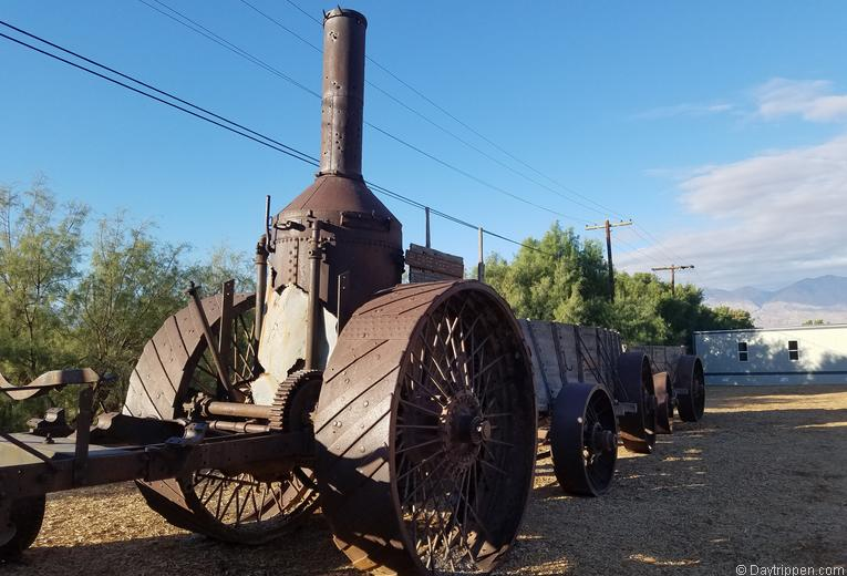 Old Dinah Steam Tractor