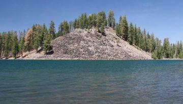 Butte Lake Lassen Volcanic National Park