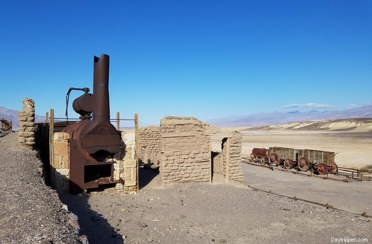 Harmony Borax Works Death Valley