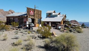 Nelson Ghost Town Eldorado Canyon Nevada