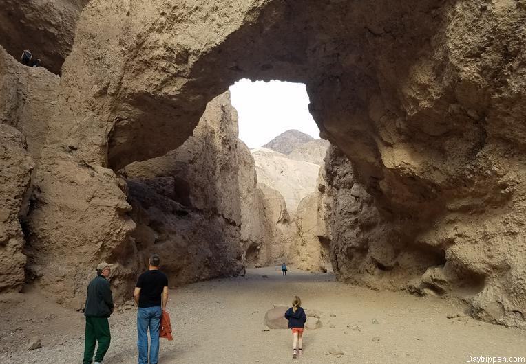 Death Valley National Park Natural Bridge
