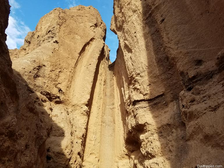 Dry Falls Natural Bridge Canyon Death Valley