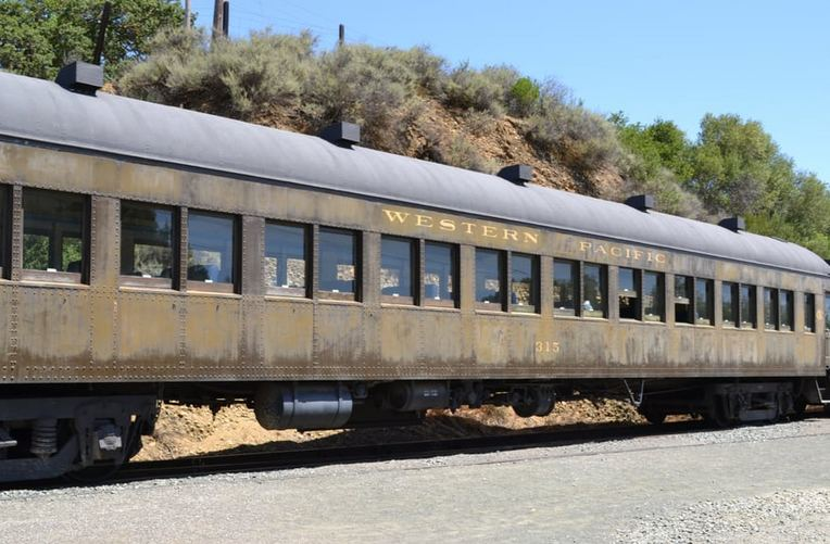Niles Canyon Railway Passenger Car