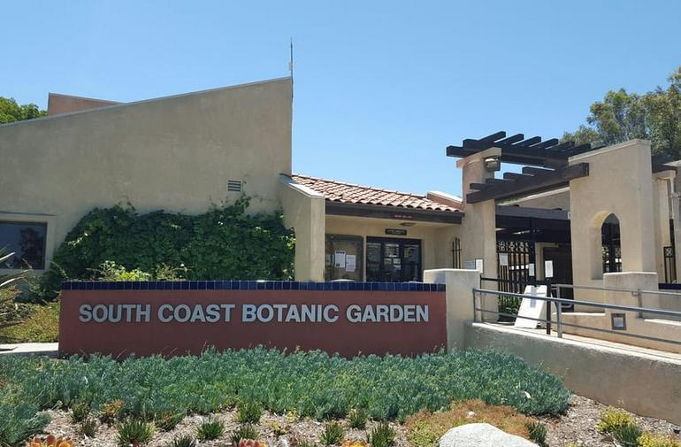 South Coast Botanic Garden Entrance