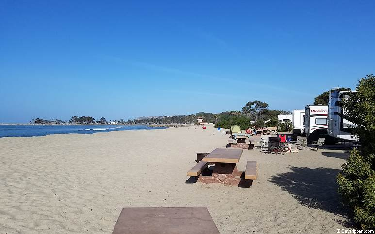 Southern California Beach Camping Doheny Beach