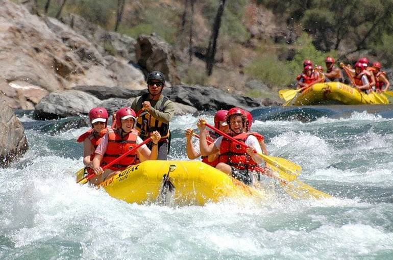 Stanislaus River Rafting  Northern California