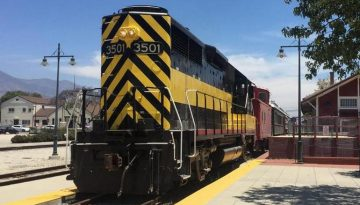 Places To Ride Trains in Southern California