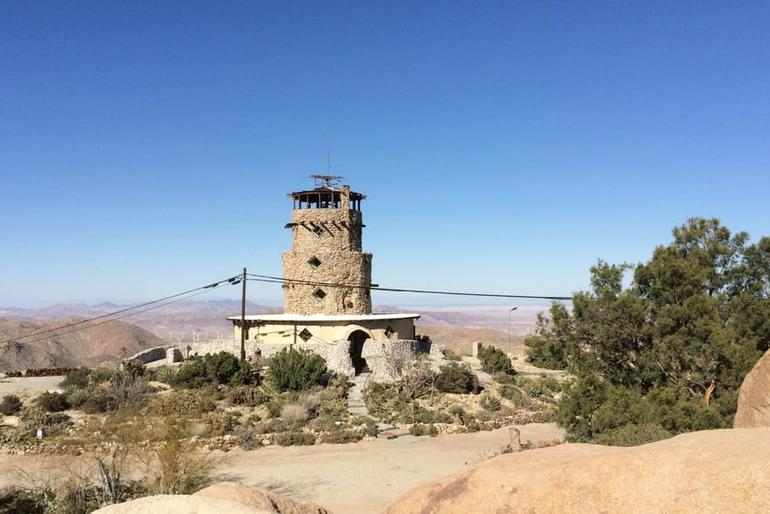 Desert View Tower and Rock Garden