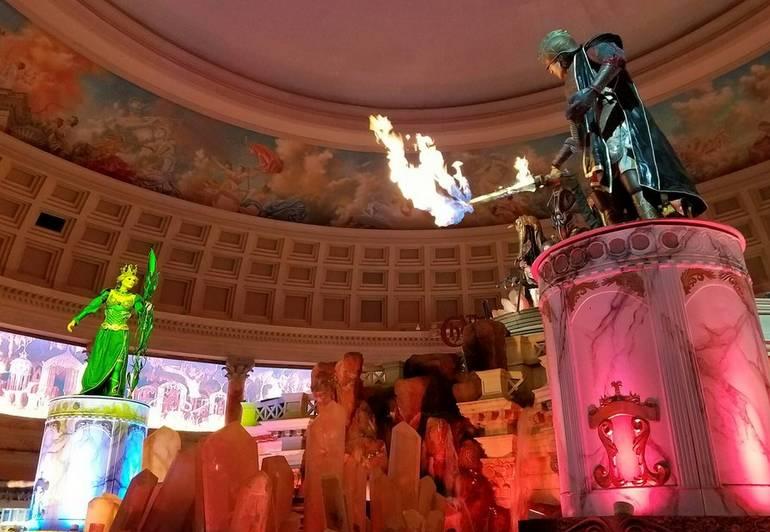 Atlantis Water Show Forum Shops