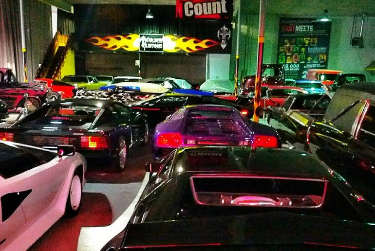 Count's Kustoms Showroom Las Vegas