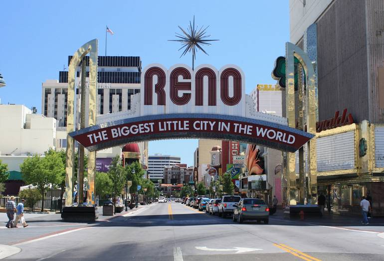 Reno Nevada San Francisco Road Trip Idea