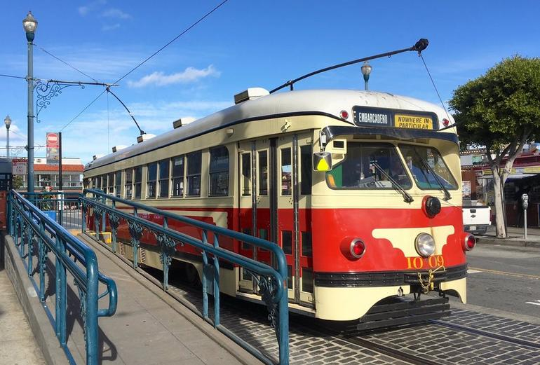 Fisherman's Wharf Trolley Car