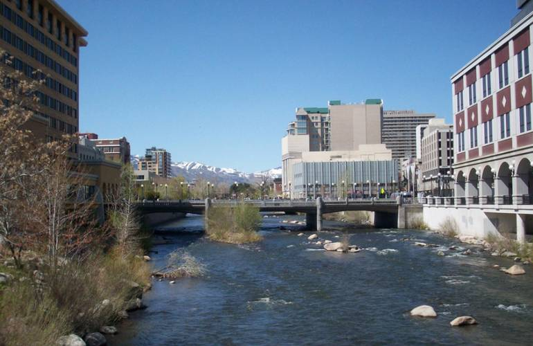 Truckee River Reno, Nevada
