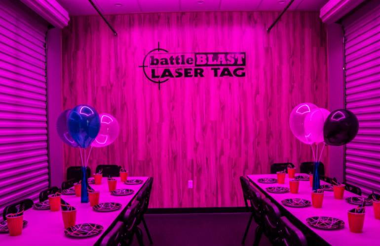 Kids Birthday Party Las Vegas battleBLAST