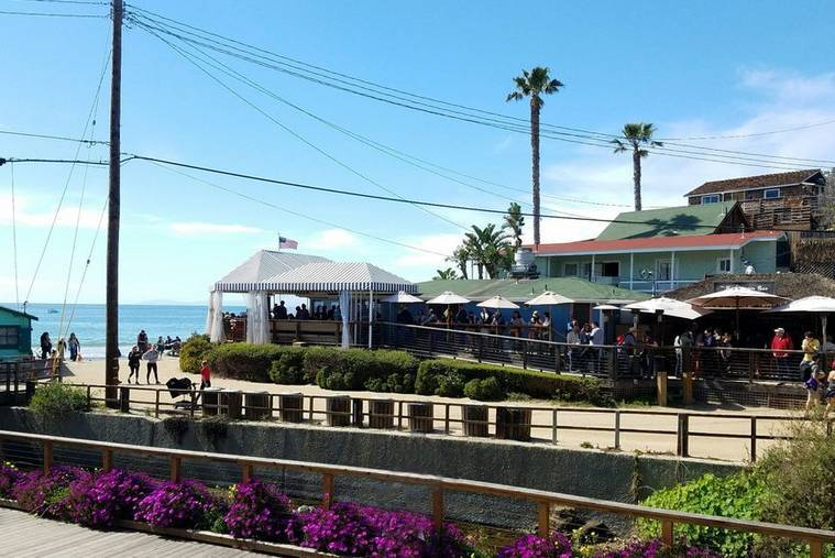 Beachcomber Restaurant Crystal Cove Beach