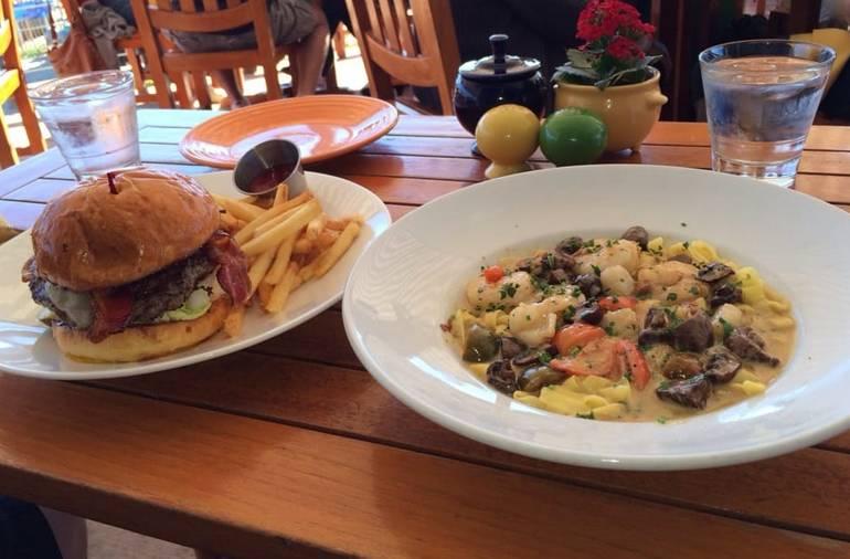 Beachcomber Restaurant Kobe Burger