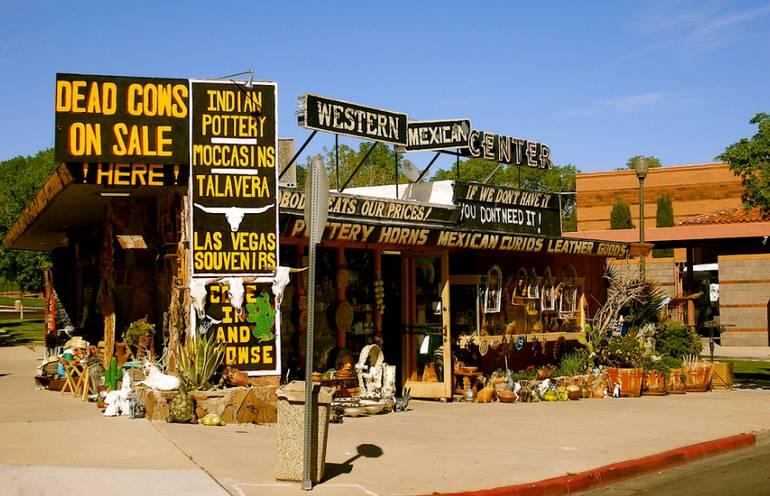 Souvenir Store boulder City Nevada