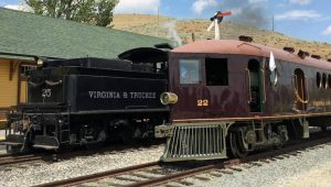Places To Ride Trains in Nevada Historic Railroads