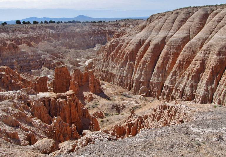 Cathedral Gorge State Park Nevada Day Trip