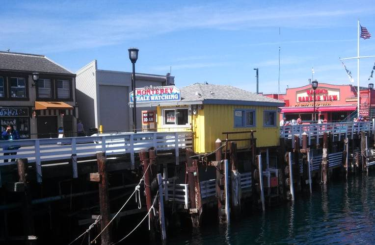 Fisherman's Wharf Monterey Bay California