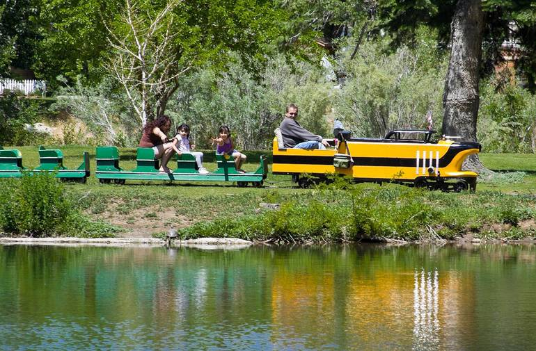 Idlewild Park Reno Miniature Train