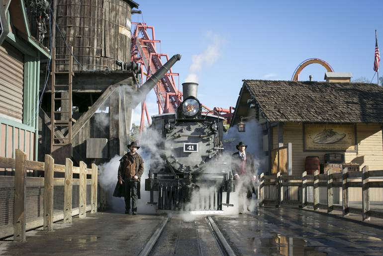 Knott's Berry Farm Train