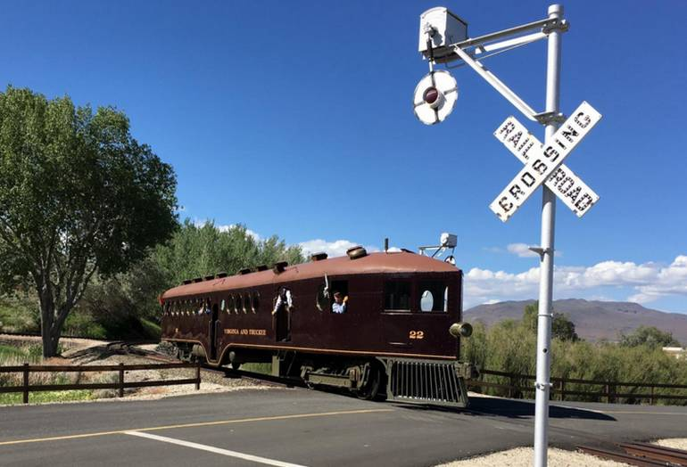 Carson City Railroad Museum Train Rides