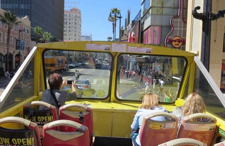 Hollywood Bus Tours Los Angeles