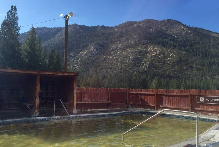 Grover Hot Springs State Park Mineral Pool