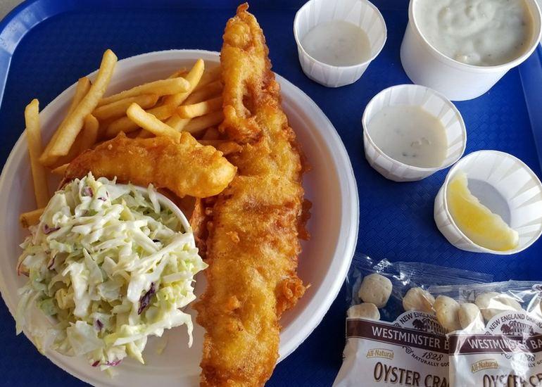 Harbor Fish & Chips Oceanside California