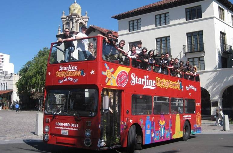 Hollywood Bus Tours Double Decker