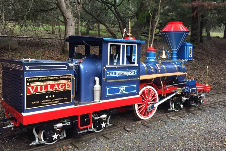 Howarth Park Train Santa Rosa