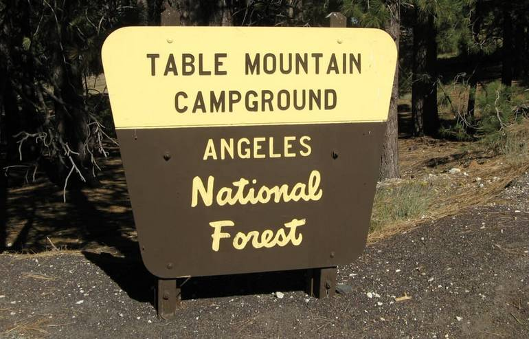 Table Mountain Campground Wrightwood California