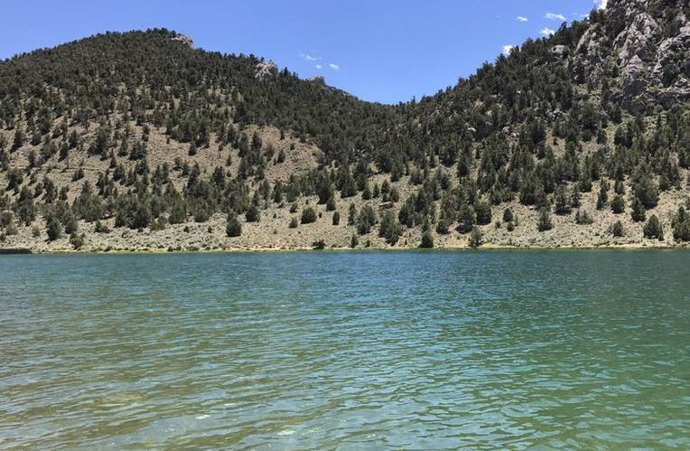 Cave Lake State Park Nevada