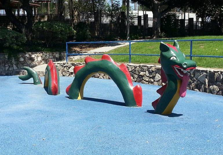 Atlantis Play Center Garden Grove Sandy Sea Serpent