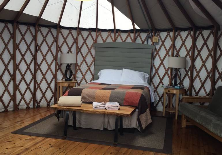 Treebones Resort Yurt