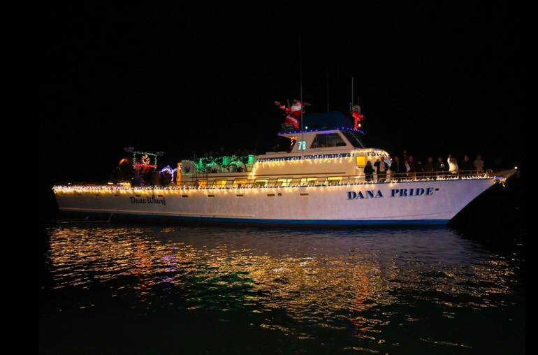 Dana Point Harbor Christmas Lights Parade Cruise