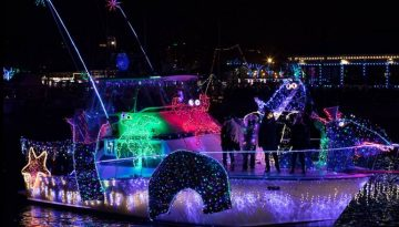 Dana Point Harbor Christmas Lights Parade Cruise Discount